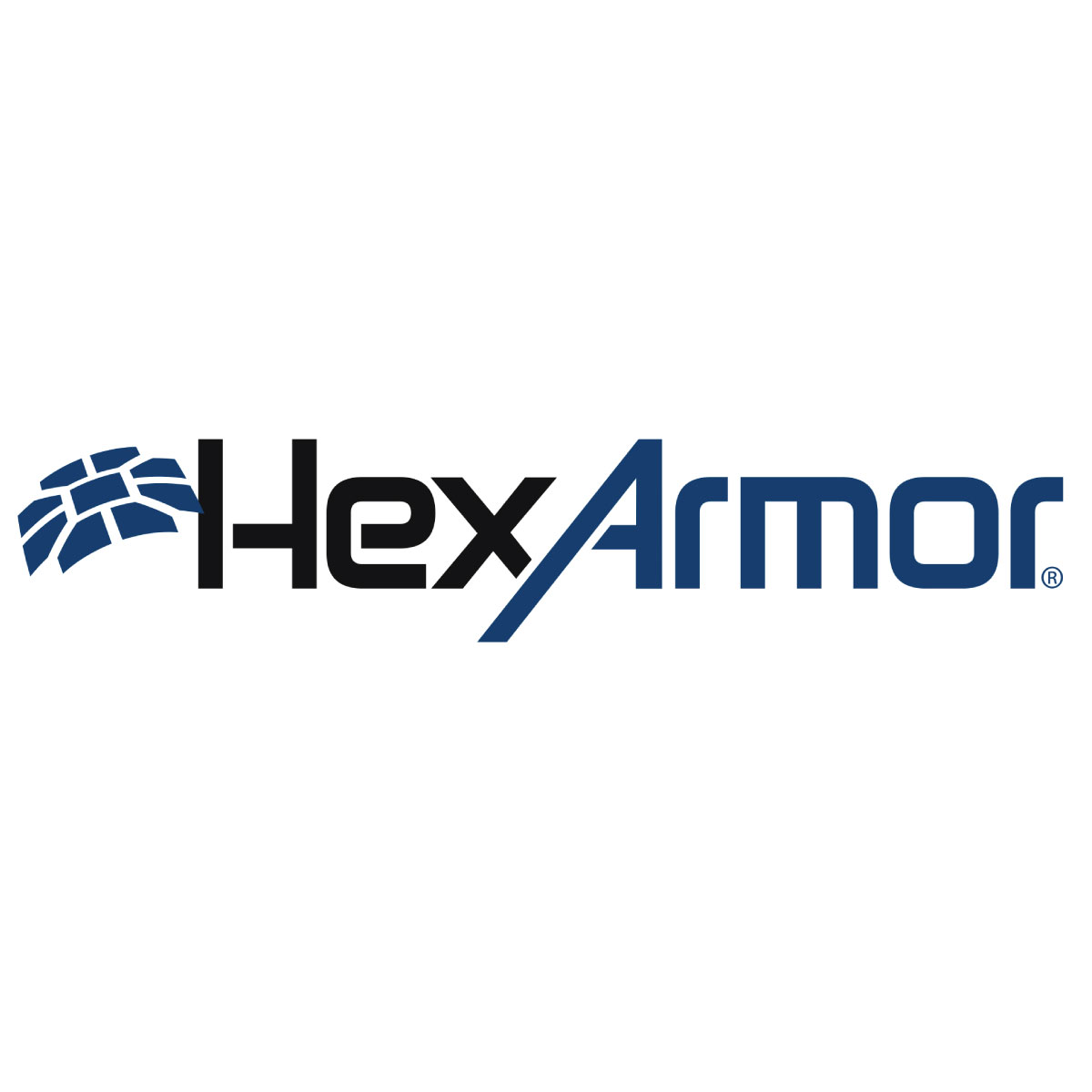 Hex armor logo