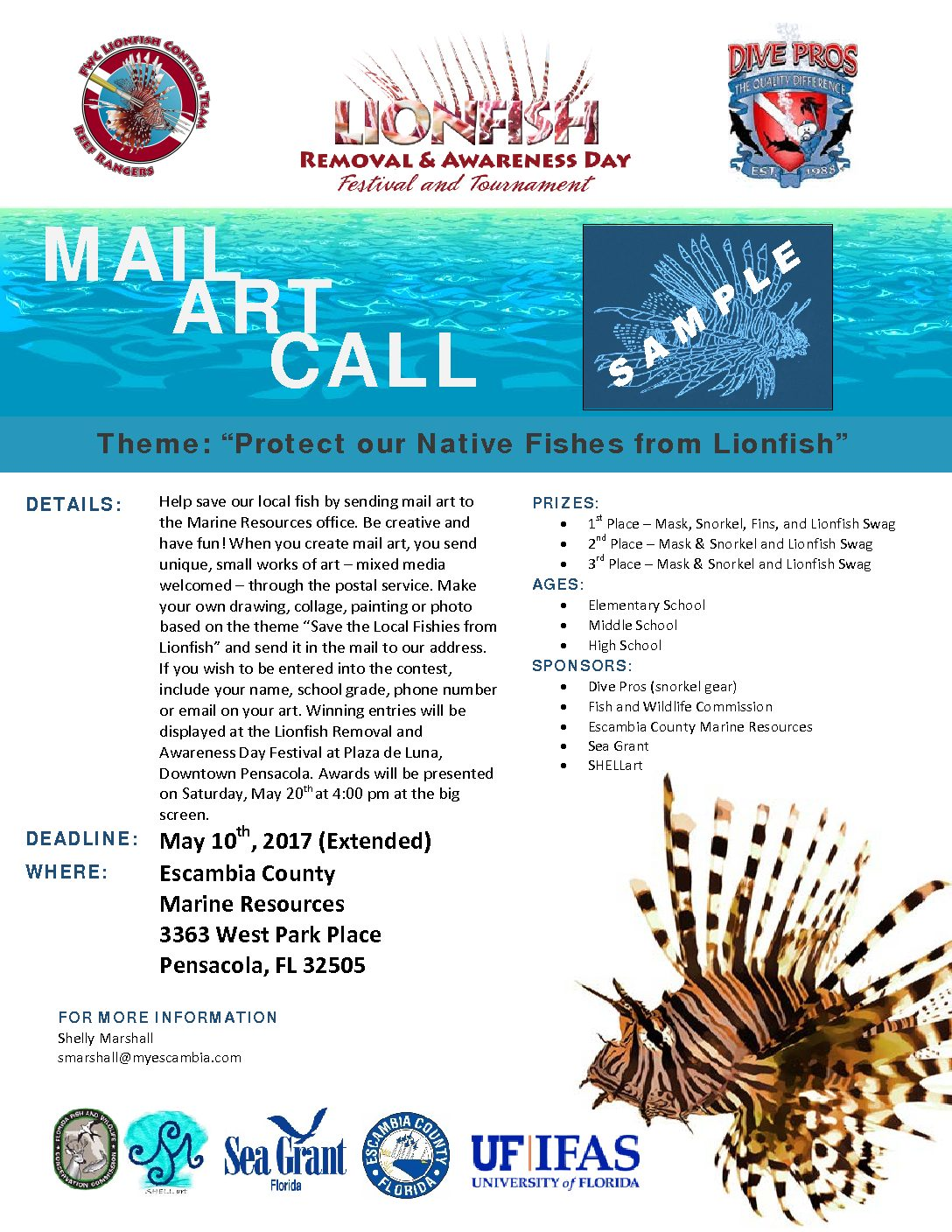 Call for Lionfish art